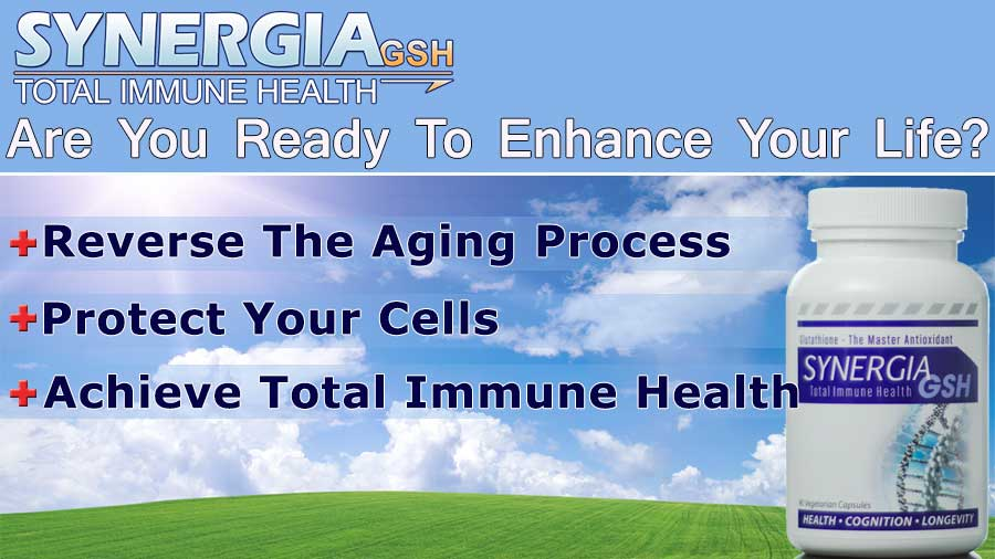 SynergiaGSH-glutathione supplement banner