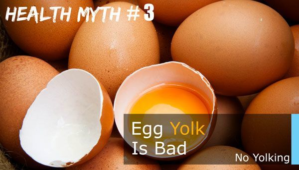 egg yolks are unhealthy
